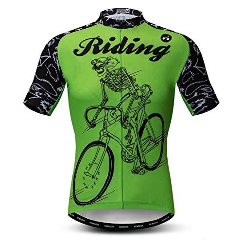 Weimostar Maillot de Ciclismo Hombres Ropa de Bici Maillot de Bici topMountain...