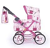 Cosatto – Leightweight Pink Childrens Dolls Pram