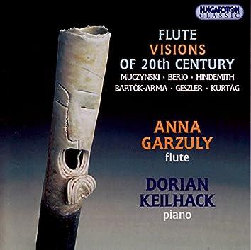Muczynski: Flute Sonata / Berio: Sequence I / Bartok: 15 Hungarian Peasant Songs
