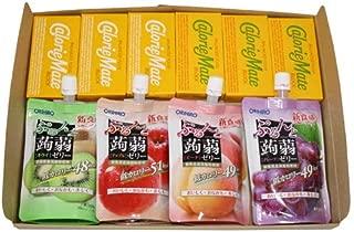 ぷるんと蒟蒻ゼリースタンディング(4種・各1コ)& カロリーメイト(2種・各3コ)セット