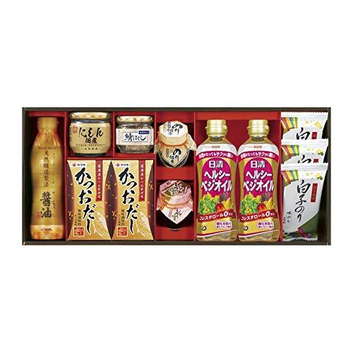 特選 優美彩 TUM-50B 【調味料 油 オイル だし 詰め合わせ ギフトセット セット】