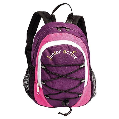 Fabrizio kleiner Kinderrucksack Kindergarten Rucksack Tasche 20257-9900, Farbe:Lila