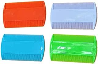 LUFA 2 UNIDS Plástico Puro Color Fine Tooth Head Lice Pulga