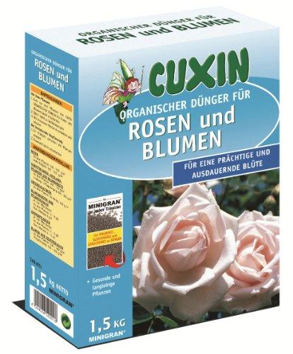 Cuxin Spezialdünger für Rosen und Blumen, 1,5 kg