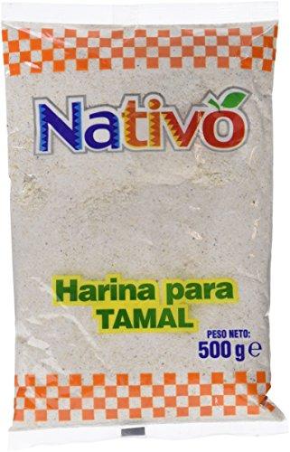 Nativo Harina para Tamal   12 Paquetes de 500 gr   Total: 6000 gr