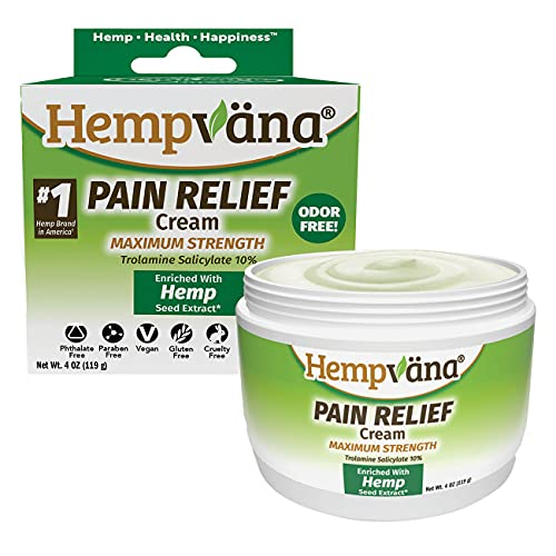 As Seen On TV Hempvana Pain Relief Cream for Arthritis by BulbHead - The Hemp Cream for Pain Relief & Joint Pain Relief with Hemp Seed Extract (1 Pack)