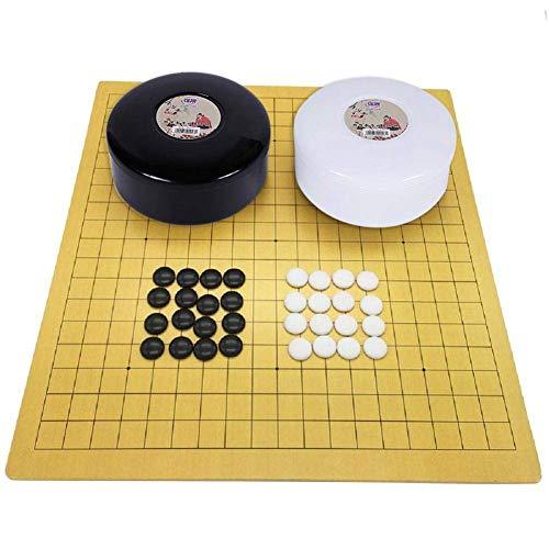 Go Board Game Set, Juego De Estrategia Para Dos Jugadores Para Principiantes Con Tablero Reversible, Fantástico Juego De Tablero De Estrategia, Para Adultos, Niños (Familia De Entretenimiento De Romp