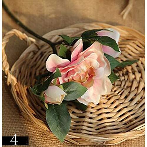 lookem 10 Stücke Gardenia Blume Künstliche Gardenia Pflanze Jasmin Zimmerpflanzen Simulation Künstliche Blume Für Hochzeit Und Zuhause