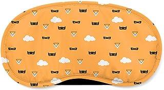 Super Hero Masks Orange - Sleeping Mask - Sleeping Mask