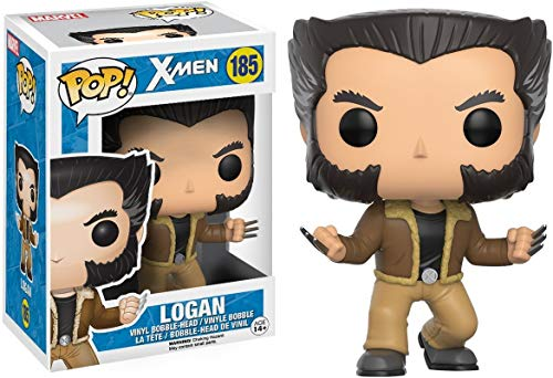 Funko - POP! Bobble Coleccion X-men - Figura Logan (12458)