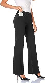 Women's 28''/30''/32''/34'' Stretchy Bootcut Dress Pants...