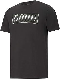 PUMA Men's ATHLETICS Tee Big Logo T-Shirt