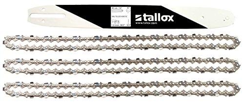tallox 1 Espada y 3 Cadenas de Sierra .325