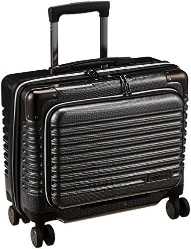 [シフレ] ミチコロンドン ハードジッパースーツケース MCL 保証付 25L 40 cm 2.48kg カーボンブラック