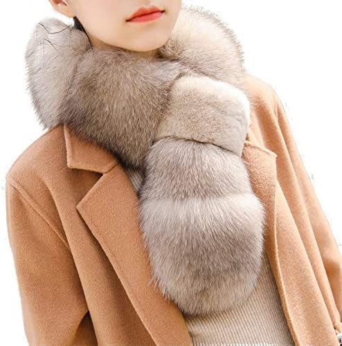Pulinda Neck Collar Hair Collar Real Fox Fur Fashion New General Purpose Thickened New Natural Lovely Winter Female