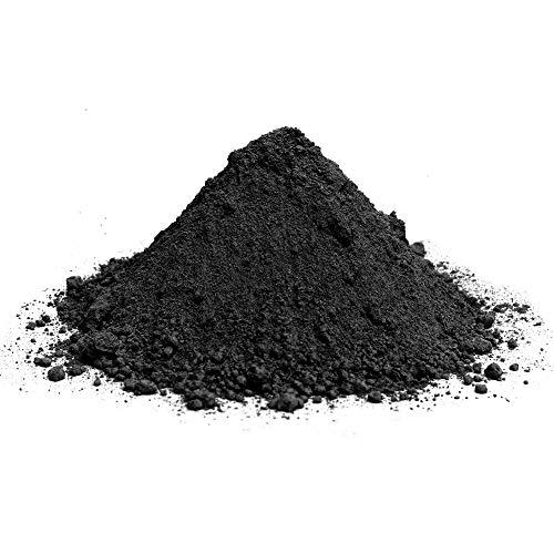 Pigmentpulver, Eisenoxid, Oxidfarbe - 100g im Beutel Farbpigmente, Trockenfarbe für Beton, Epoxidharz + Wand - Farbe: Anthrazit 100g - kleine Menge für die Probe