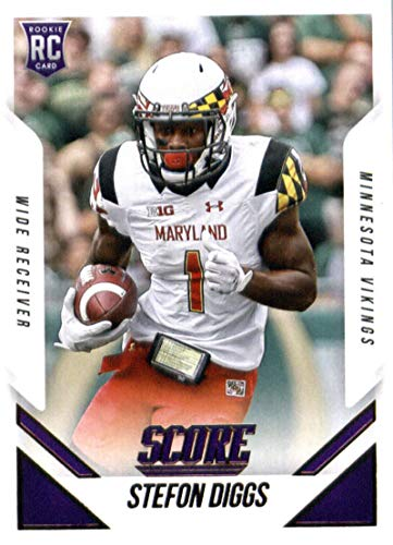 2015 Score #415 Stefon Diggs Vikings NFL Football (RC - Rookie Card) NM-MT