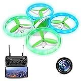EACHINE E65HW Drone con Telecamera 1080P Mini Drone per Bambini Adatto per Principianti Funzione di...