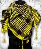 Tactical Desert Shemagh Arab Keffiyeh Neck Scarf Yellow