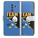 Étui Compatible avec Huawei Mate 10 Pro Étui Folio Étui magnétique Duck Tales Fifi Produit sous...
