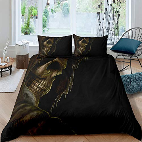 NNDHYS Grim Reaper Bedding Set Single/Twin/Duvet Cover 2/3pcs Fashion Home Textiles Comforter Bedding Sets duvet cover