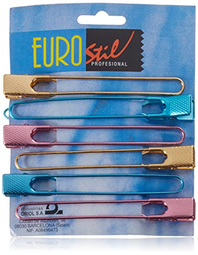 Eurostil – Pinces Intercalaires torsades – Lot de 6