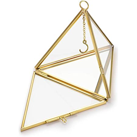 2 Piece Set of Pyramid Ring Holders