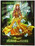 Beautiful Fairies and Elves: Coloring Book For Experienced User (Stress Relief)