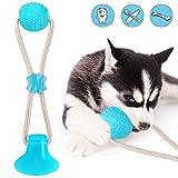 Ventosa Perro, Juguete Ventosa Perro, Juguete Multifuncional Para Mordedura De Molar Para Mascotas Juguete De Bola De Perro De Estilo De Ventosa Resistente A La MasticacióN