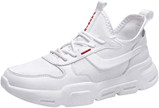 Lailailaily Men's Fashion Mesh Breathable Sneakers Running Sports Sneakers Shoes