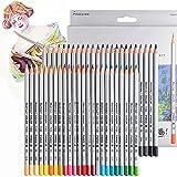 Lápices de dibujo artístico finos de 48 colores 7100-48CB. No tóxicos. Para dibujar, colorear, diseñar, hacer bocetos