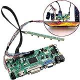 JISHIYU 8-bit Controlador LCD de Alta definición Junta 40P DVI VGA Kit Módulo de Audio PC for B156XW02 15,6 Pulgadas de Pantalla