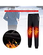 S-tubit Pantalones Térmicos,Pantalones de Montaña,Pantalones calefactados unisex,termostato inteligente USB Pantalones calientes hasta la rodilla pantalón caliente de engrosamiento de terciopelo nearby