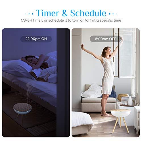 Maxcio-Alexa-1000ML-WiFi-Essential-Oil-Diffuser-for-Aromatherapy-Smart-Ultrasonic-Aroma-Diffuser-Humidifier-7-Night-Lights-3-Mist-Modes-Timer-Schedule-Alexa-Google-Home-SmartLife-Control