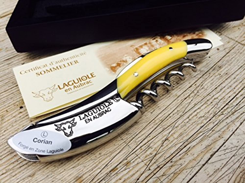 Laguiole en Aubrac Sommelier Kellnermesser SOM99JAI Gelb B00XEH65DW B00XEH65DW B00XEH65DW | Bekannt für seine schöne Qualität  fd7bcd