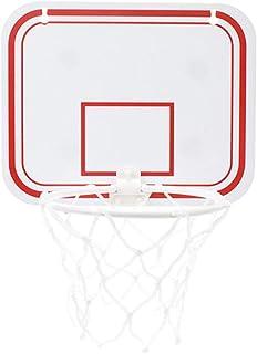 Objetivo de f/útbol y Ring Toss Soporte de los ni/ños del beb/é de elevaci/ón Inicio Deportes Bola del Juguete del Marco de Disparo B ZHENYUE Cremallera m/óvil de Baloncesto Cubierta