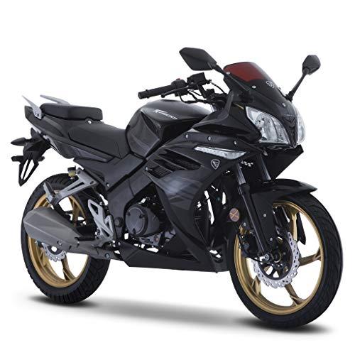 Motocicleta Italika de Deportiva – Modelo RT200 Negro/Gris