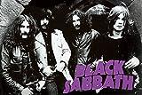 (24x 36) Black Sabbath (Musikgruppe, Kreuze tragend)