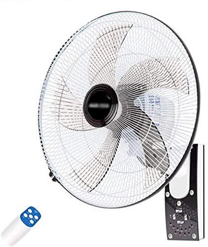 QIURUIXIANG 18 pulgadas montado en la pared ventilador teledirigido para el hogar QI622