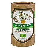 Maca fit 100 cápsulas polvo puro de la raíz de maca organica