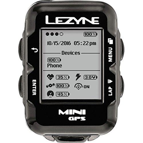 LEZYNE Mini Cycling GPS Computer, USB Rechargeable, 10 Hour...