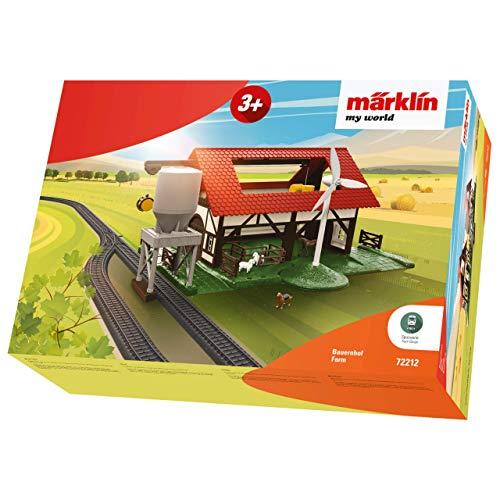 Märklin 72212 Ergänzungspackung Bauernof Bauernhof-My World Fahrzeug, Bunt