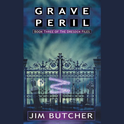 Grave Peril     The Dresden Files, Book 3              By:                                                                                                                                 Jim Butcher                               Narrated by:                                                                                                                                 James Marsters                      Length: 11 hrs and 55 mins     21,334 ratings     Overall 4.7