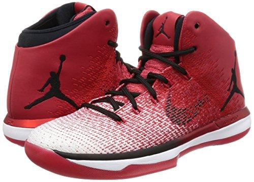 Nike 845037-600, Chaussures de Basketball Homme, Rouge (Varsity Red/Black-White), 46 EU