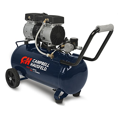 Campbell Hausfeld 8 Gallon Portable Quiet Air Compressor...
