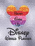 Disney World Planner: Walt Disney World Planners Daily Organizer Travel For Kids Silver Cover