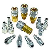 Foster 3 Series - 14pc Coupler & Plug Kit, 1/4