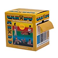 CanDo? Low Powder Exercise Band - 25 yard roll - Gold - xxx-heavy