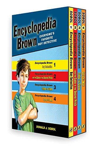 Encyclopedia Brown Box Set (4 Books)