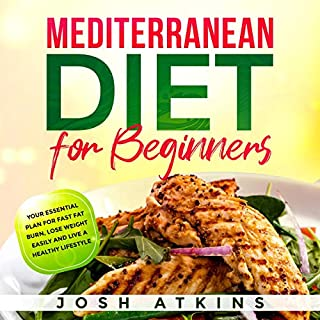 Mediterranean Diet for Beginners: Your Essential Plan for Fast Fat Burn, Lose Weight Easily and Live a Healthy Lifestyle     Complete Guide for Easy Weight Loss, Book 1              Written by:                                                                                                                                 Josh Atkins                               Narrated by:                                                                                                                                 Jim Rising                      Length: 2 hrs and 38 mins     Not rated yet     Overall 0.0